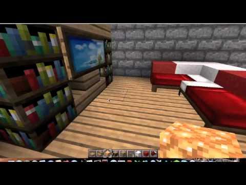 Minecraft comment faire quelques decorations du salon youtube - Comment faire une chambre moderne minecraft ...