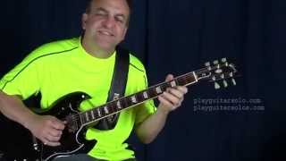 Actually it's a Sitar solo, but I figured it out on guitar. I turne...