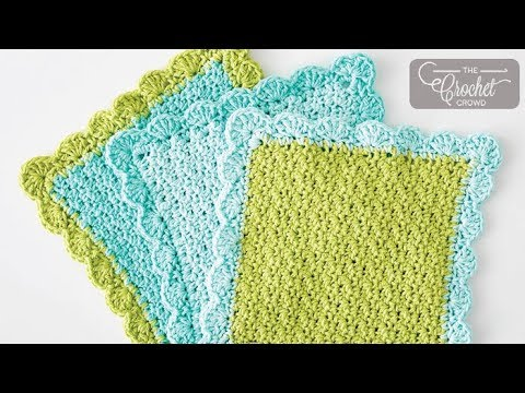 Crochet Dishcloth Youtube