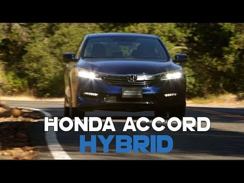 2017 Honda Accord Hybrid Review - First Drive