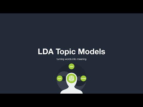 LDA Topic Models