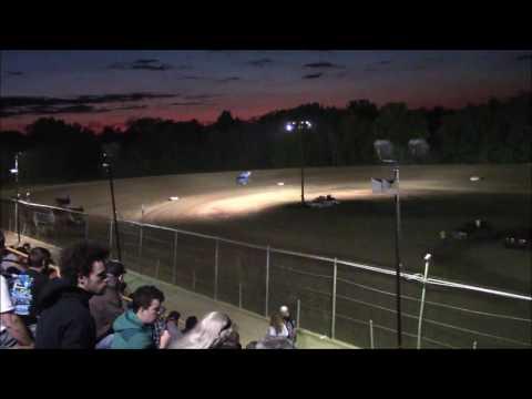 Butler Motor Speedway Sprint Heat #1 9/3/16