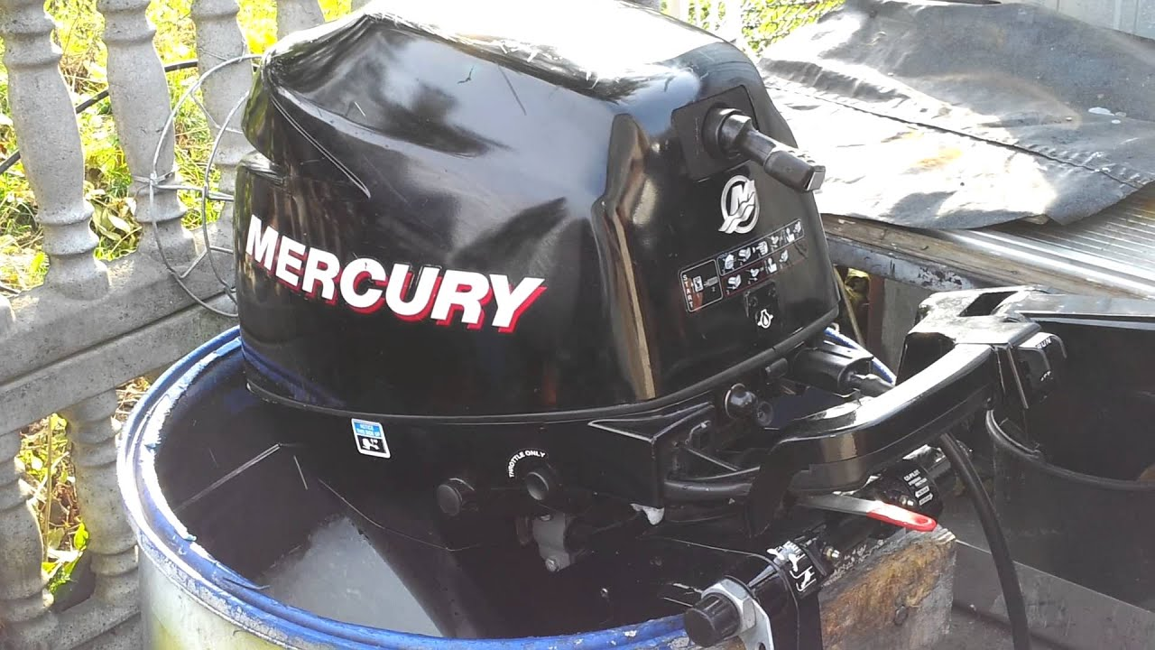 2009 Mercury 8 hp outboard motor 4-stroke ( 4-SUW ) by KOSZALIN9