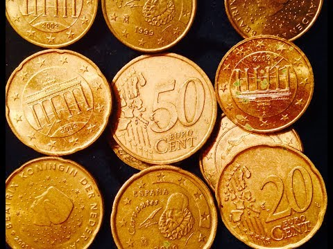 Nordic Gold Euro Cent Coins (10, 20, 50 Cent Coins)