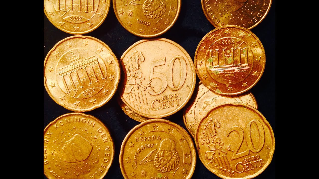 Nordic Gold Euro Cent Coins 10 20 50 Cent Coins Youtube