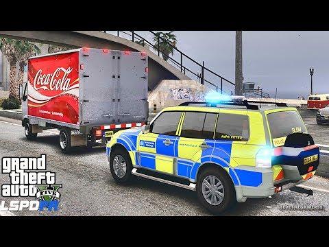 GTA 5  MOD LSPDFR 667 - BRITISH PATROL !! (GTA 5 REAL LIFE PC MOD)