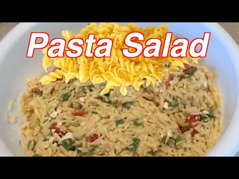 How to make Easy Delicious Orzo Pasta Salad