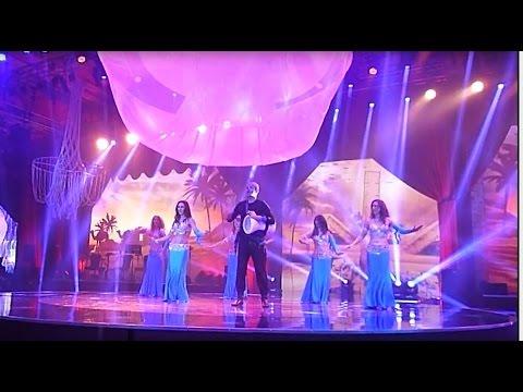 Karim Nagi with Arabellas Bellydance in Shanghai - BDC Closing Gala, August 2014