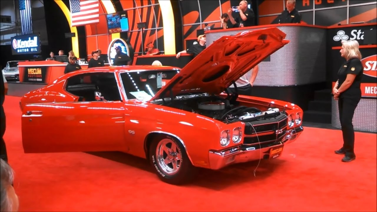Crossing the Block At the 2016 Mecum Harrisburg Auction - YouTube