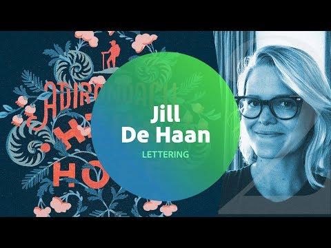 Live Lettering with Jill De Haan 2 of 3