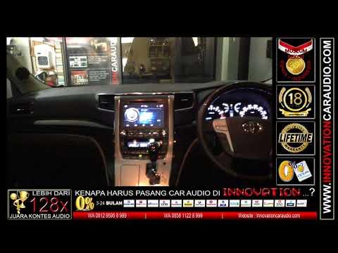 Paket audio mobil Alphard / Vellfier | Innovation car audio Jakarta