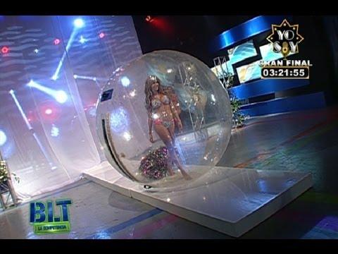 Melissa, Natalia y Rosángela desfilaron en una burbuja en 'Bienvenida la Tarde'