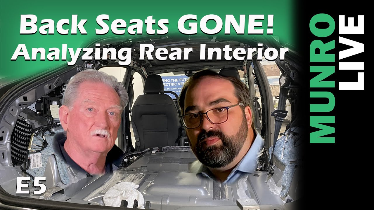 Mach-E Teardown: Back Seats Gone - Analyzing Rear Interior