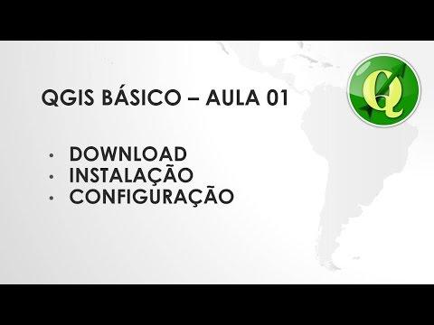 QGIS BASICO - AULA 01 - DOWNLOAD, INSTALAÇÃO E CONFIGURAÇÃO