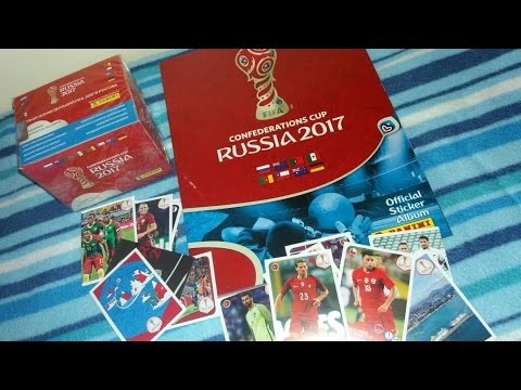 Review Sticker Álbum COPA CONFEDERACIONES RUSIA 2017 - CONFEDERATIONS CUP RUSSIA 2017 PANINI