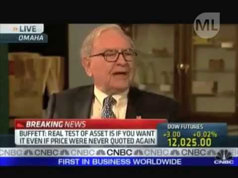 Short Clip by Meshlog: Warren Buffett on Gold and Hard Asset