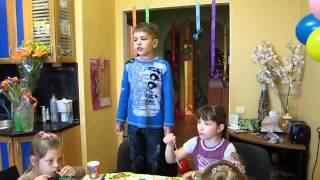 Полина. День рождения. 7 лет.
