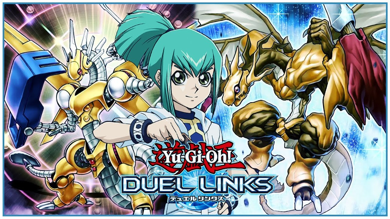 Yu-Gi-Oh! Duel Links] Leo 5D's Skills and Cards! Life Stream Dragon