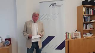 AIT Managing Director Prof. Wolfgang Knoll on the Alpbach Technology Symposium 2020