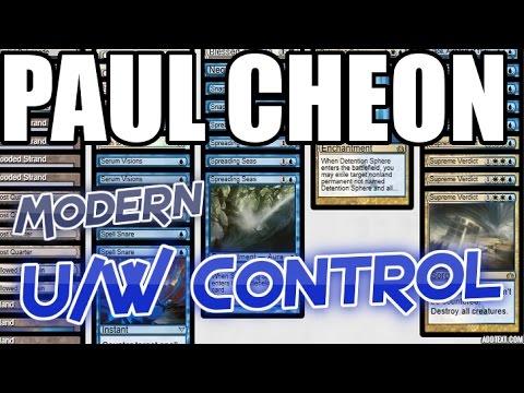 Channel Cheon - Modern UW Control (Deck Tech & Match 1)