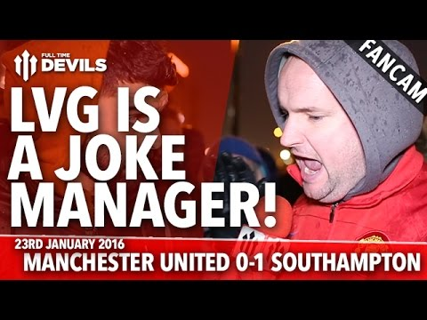 Andy Tate: Louis Van Gaal Is A Joke Of A Manager! | Man United 0-1 Southampton | FANCAM