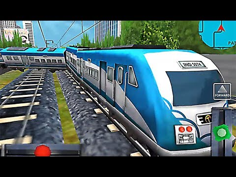 Indian Metro Train Simulator - Level 4 Fail Because Funny Crazy Glitch