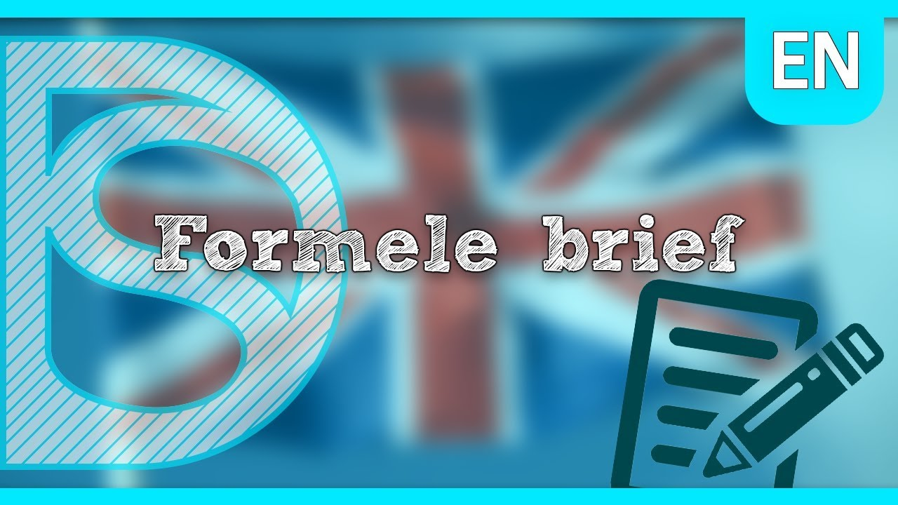 Se Schoolexamen Engels Formele Brief Youtube