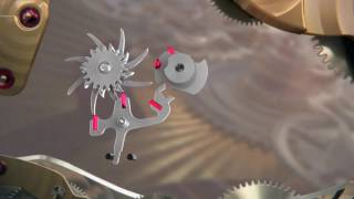 omega co axial escapement explained