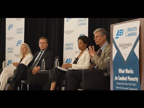 What Works to Combat Poverty: Lessons from NYC's CEO - Panel and Q&A (Full Video)