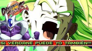 SI VERDANE PUEDE YO TAMBIÉN!! COMBATE AL LIMITE!! Dragon Ball FighterZ: Online