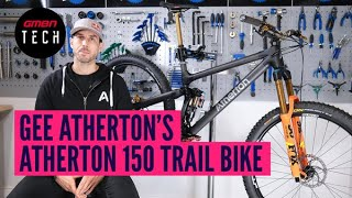 Gee Atherton's Custom Atherton 150 Trail Bike + Exclusive Interview | GMBN Tech Pro Bike Check