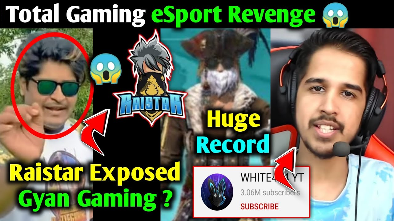 Raistar Live Exposed Gyan Gaming ?, Total Gaming Huge Record in India, White 444 Reply Confirm ?