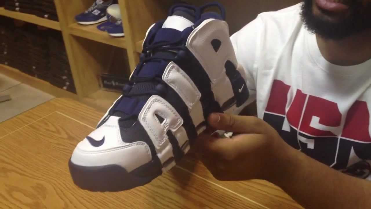 6568f8db5ac Nike Olympic Pack (Air More Uptempo, Air Force 180) - YouTube