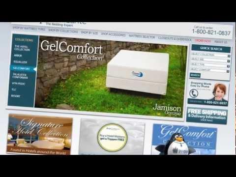 jamison bedding oceania mattress memory foam jgel bed gelcomfort - Jamison Mattress