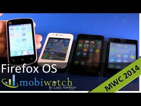 This is the 25 dollar Firefox OS phone - plus Alcatel OT Fire C, Huawei Y300 and LG Fireweb