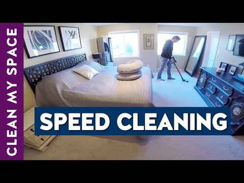 Clean My Entire House With Me | Power Hour Speed Cleaning