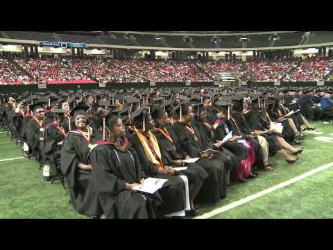 Martin Luther King III Addresses Strayer University Class of 2012