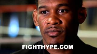 DANNY JACOBS DISCUSSES KEYS TO BEATING GENNADY GOLOVKIN; SAYS SERGIO MARTINEZ IS PEFECT FOR THE JOB