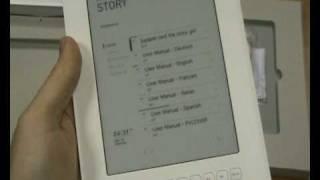 Iriver Story - Contenido (unboxed) - MundoPDA