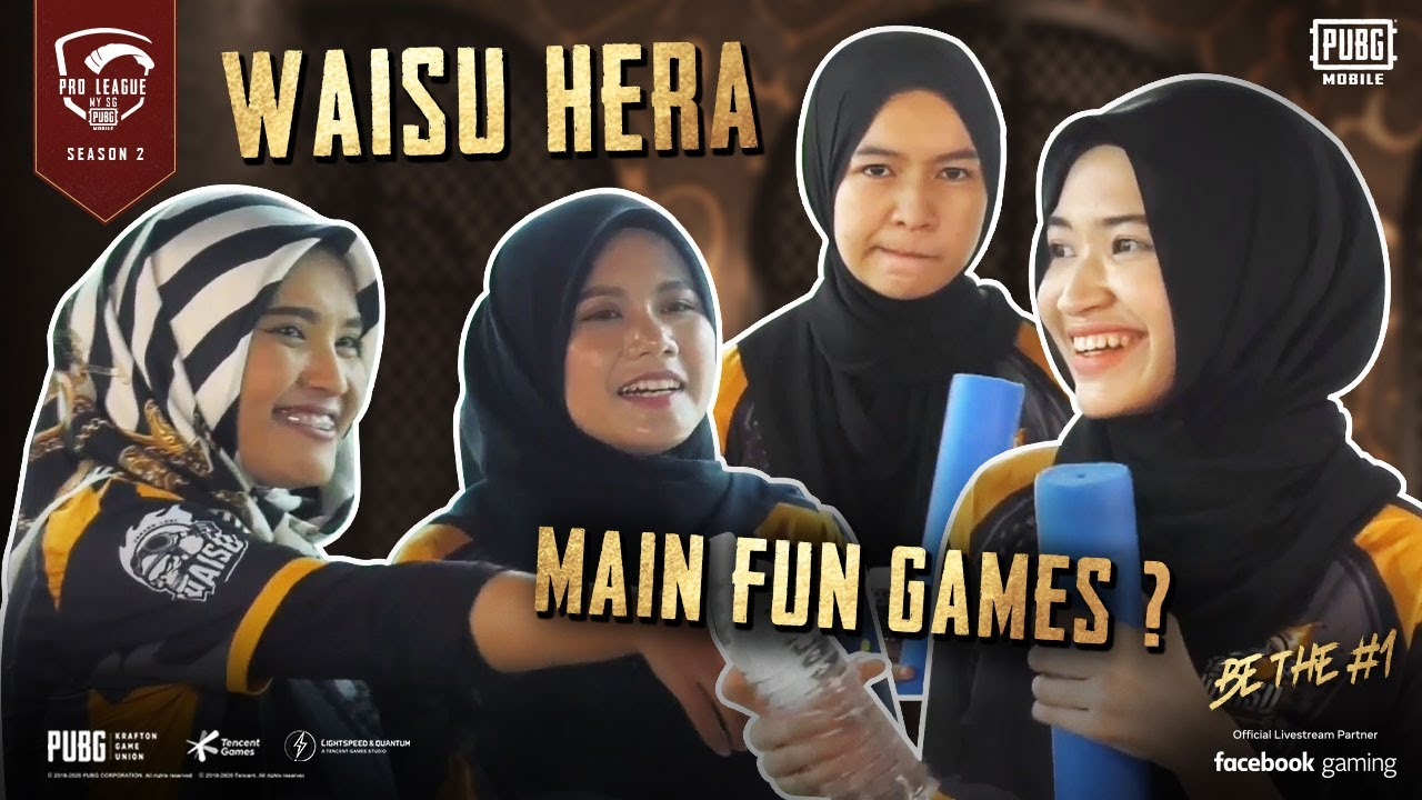 PMPL MY/SG Season 2 Fun Games: Episode 11 (Waisu Hera)