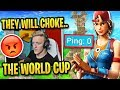 Tfue *FED UP* in 1v1 vs Low Ping Pro & Says They Will CHOKE World Cup!