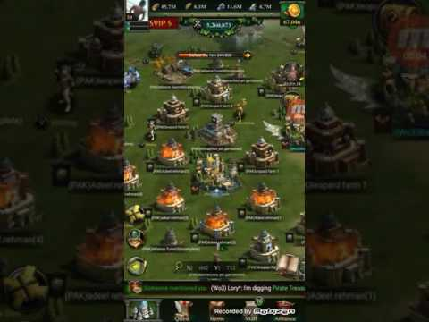 Clash Of Kings Castle Upgrade 30 Level To P1