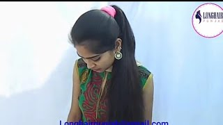LHPB Rapunzel Mannu Beautiful Model High Ponytail Play And Braid Play, MaleWith Healthy Hair