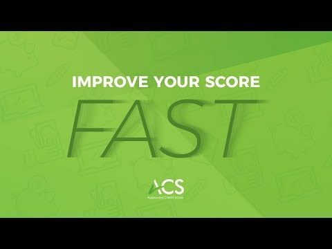 Improve Your Credit Score Fast With Main Factors