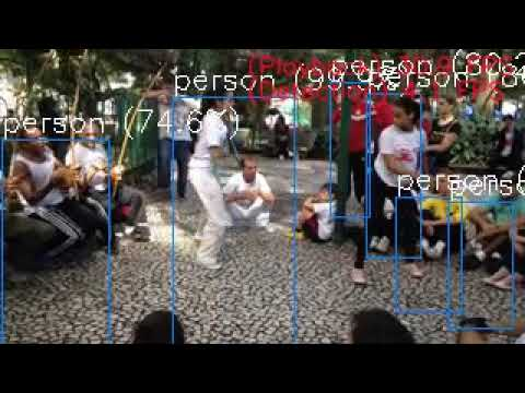 [4 FPS/NCS2 x4] Python+OpenVINO+YoloV3+MultiProcess+MP4 RealTime  Object-Detection