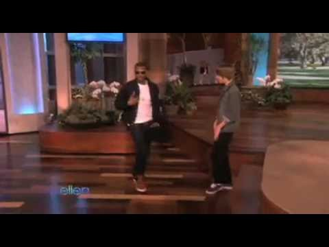 Justin Bieber & Usher Dancing on Ellen (My girl wants me on The Ellen DeGeneres Show Attempt #4)
