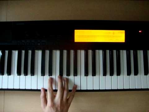 Cmaj7 Piano Chords How To Play Youtube
