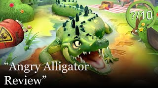Angry Alligator Review [PS4 & Switch] (Video Game Video Review)