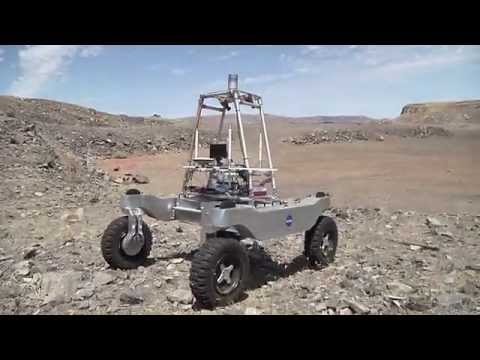 Real Martians Moment: Robotics-Improving The Way That Humans Work in Space