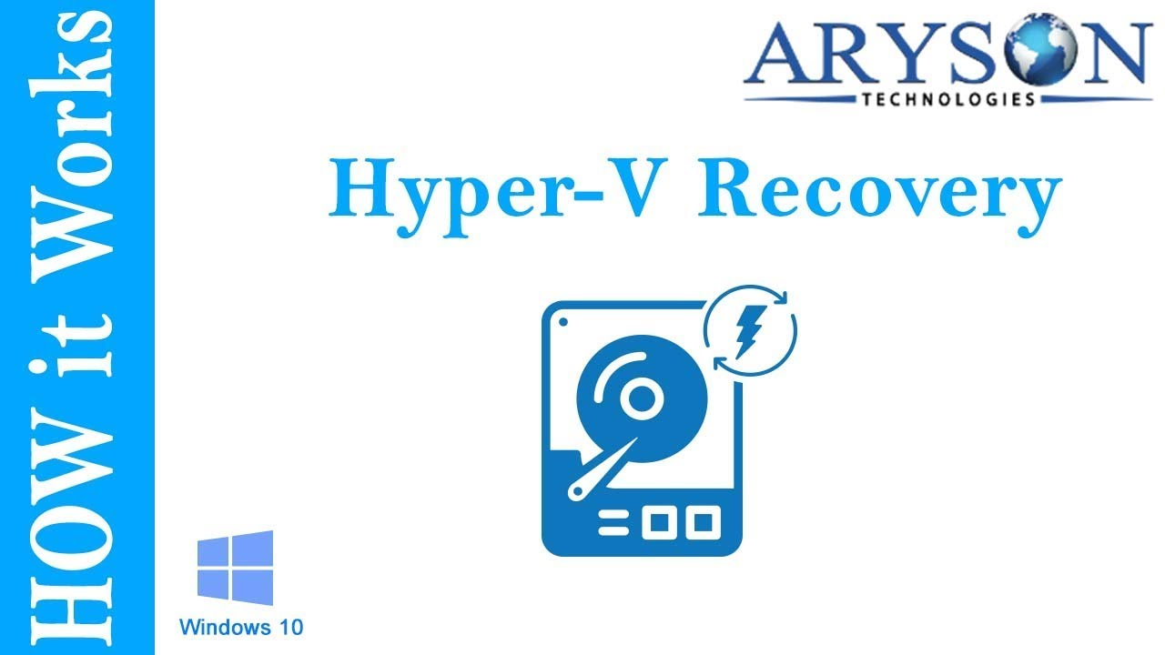 How to Restore Hyper-V Virtual Machines from VHDX File by